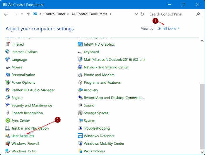 eliminar cuenta de administrador en Windows 10 pic5