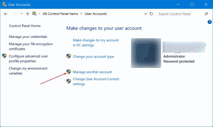 eliminar cuenta de administrador en Windows 10 pic6