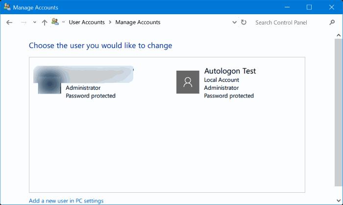 eliminar cuenta de administrador en Windows 10 pic7