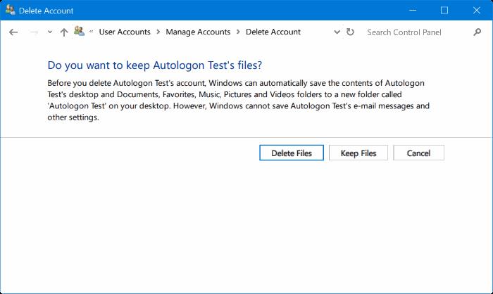 eliminar cuenta de administrador en Windows 10 pic9