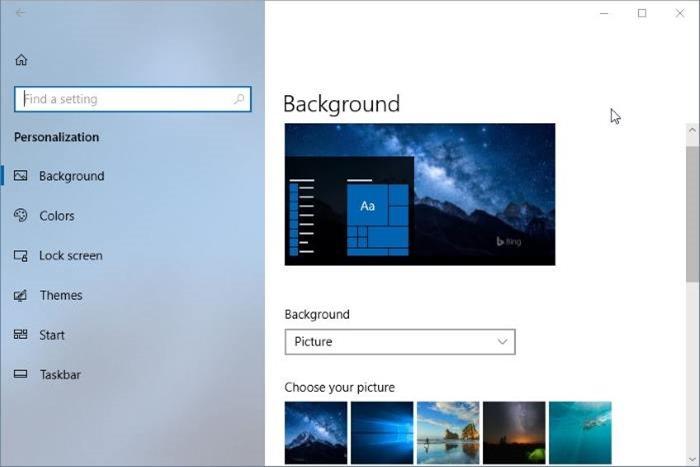 deshabilitar diseño fluido en Windows 10 pic2