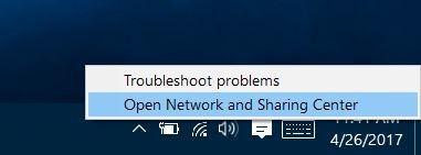 desactivar wifi cuando el cable Ethernet está conectado en Windows 10 pic2