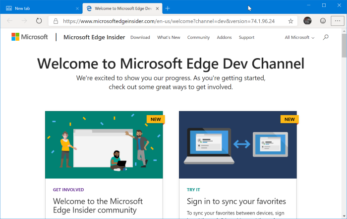descargar Microsoft Edge para Windows 10 pic01