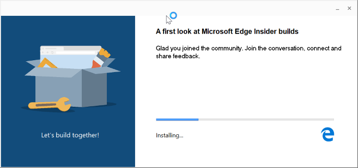 descargar Microsoft Edge para Windows 10 pic1