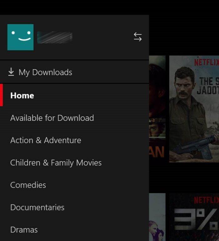 descargar películas y programas de TV de Netflix en Windows 10 pic5