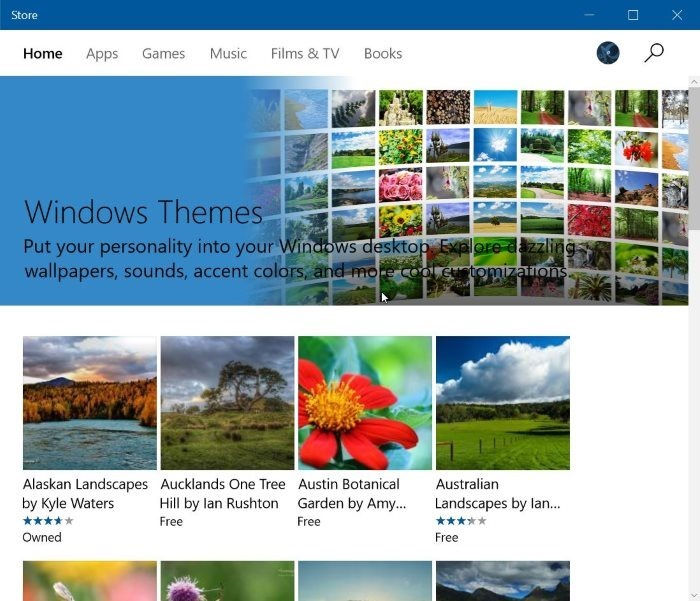 descargar temas de Windows 10 desde Store pic2