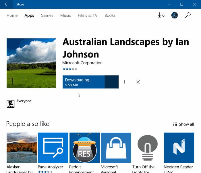 descargar temas de Windows 10 de la tienda