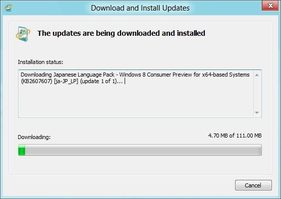 download and install windows 8 language packs step6