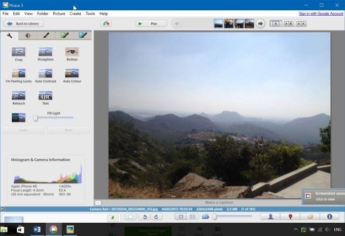 descargar google picasa para Windows 10 pic01