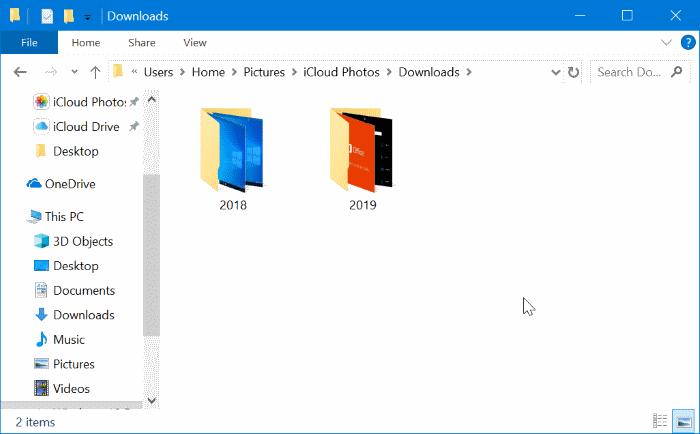 descargar icloud photos to Windows 10 PC pic13