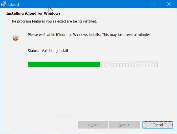 descargar fotos icloud a Windows 10 PC pic7