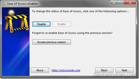 ease of access disabler step 3