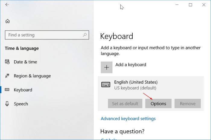 activar o desactivar la corrección automática en Windows 10 pic1