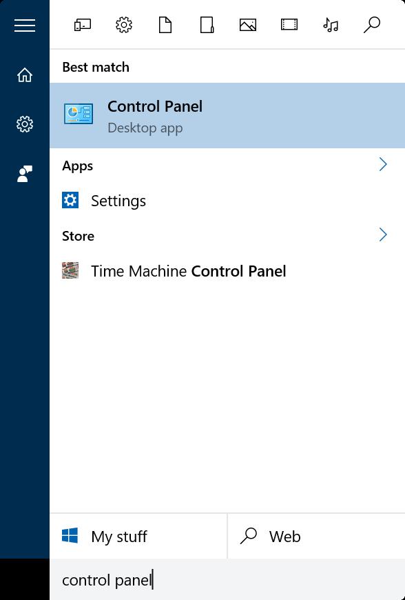 activar o desactivar la barra de idioma en Windows 10 step1