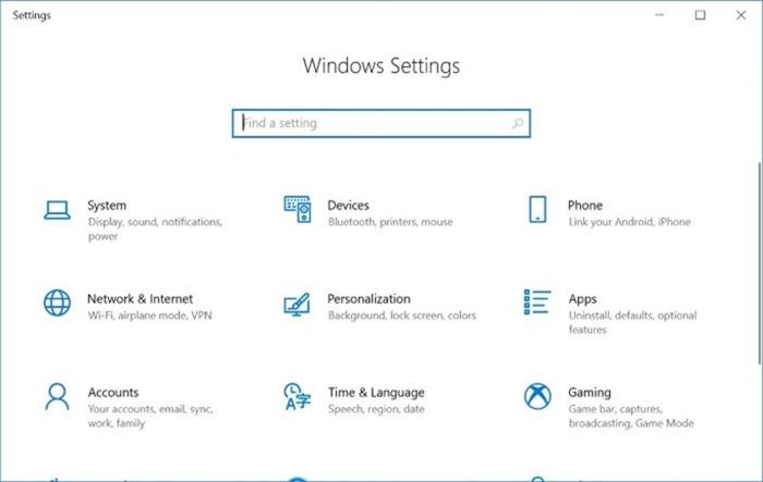 activar o desactivar la configuración y el Panel de control en Windows 10 pic1
