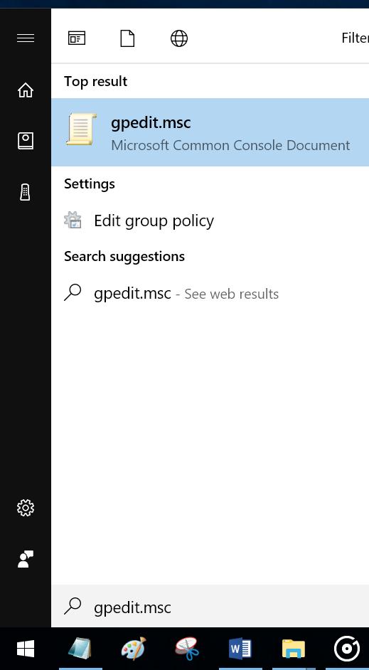 activar o desactivar la herramienta de recorte en Windows 10 pic1
