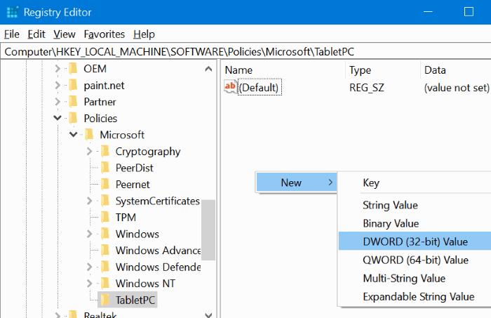 activar o desactivar la herramienta de recorte en Windows 10 pic5