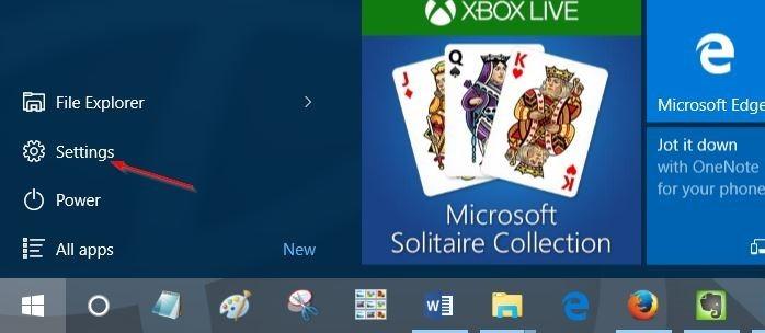 habilitar la disposición estándar del teclado completo en el teclado táctil en Windows 10 pic3