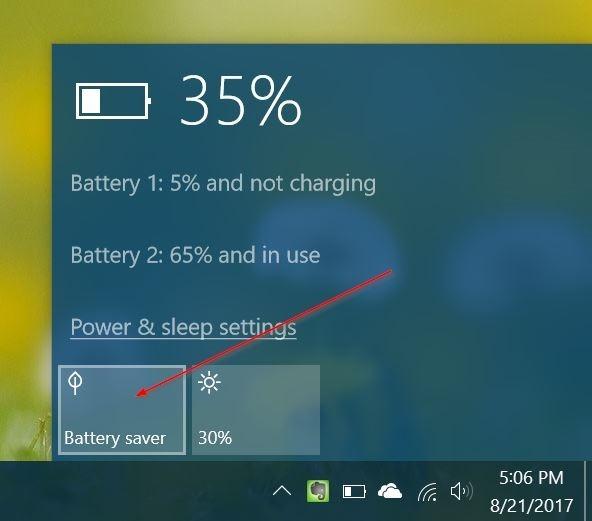 Alargar la vida de la batería de Windows 10 al ver películas y vídeos pic4