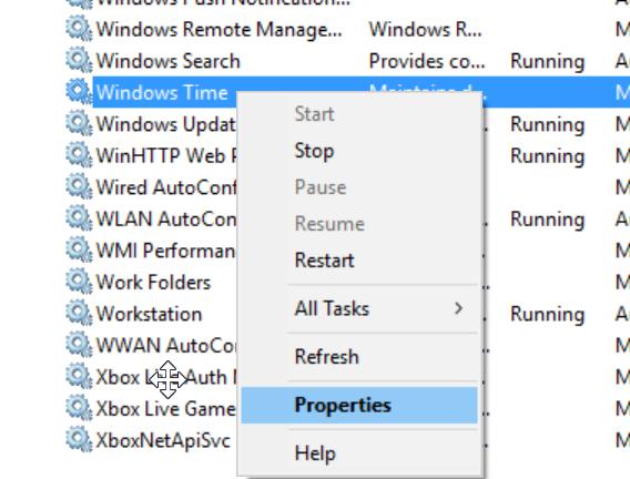 corregir fecha y hora incorrectas en Windows 10 step6