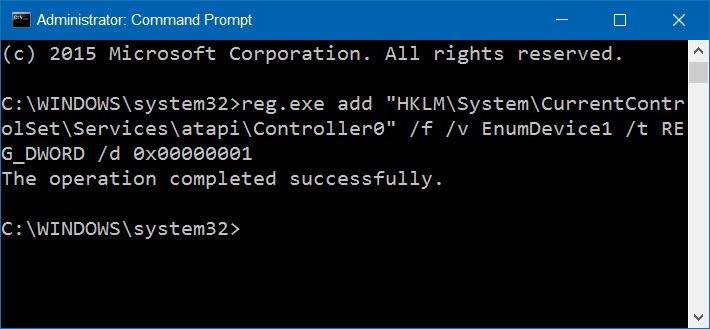 corregir unidad de DVD que falta en Windows 10 step2