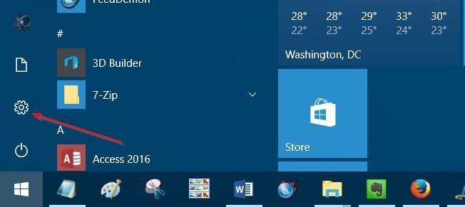 liberar espacio en disco después de la actualización del aniversario de Windows 10 pic01