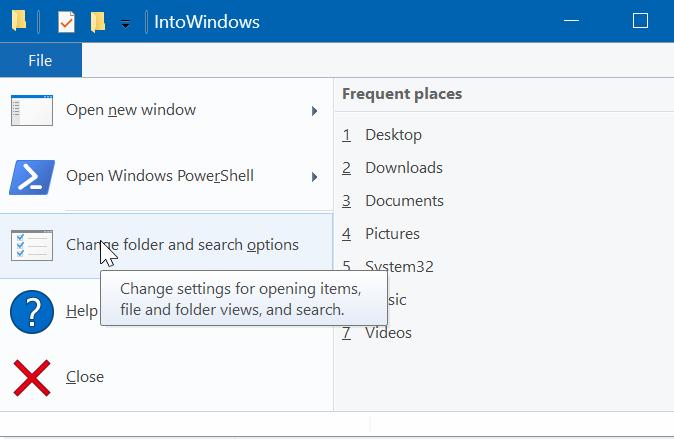 ocultar archivos y carpetas en Windows 10 pic4