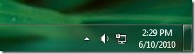 ocultar bandeja de sistema en windows 7