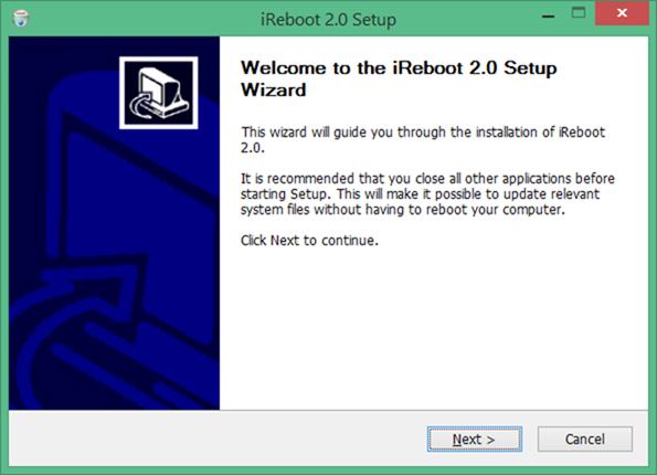 iReboot for Windows 10