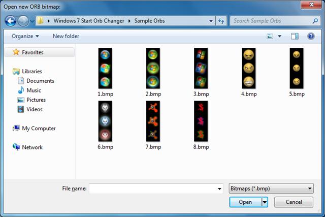 Windows 7 start orb changer pic01