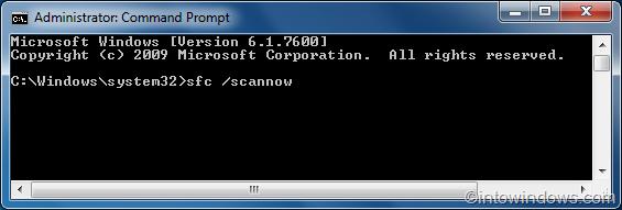 reparar archivos de sistema de Windows 7 step02