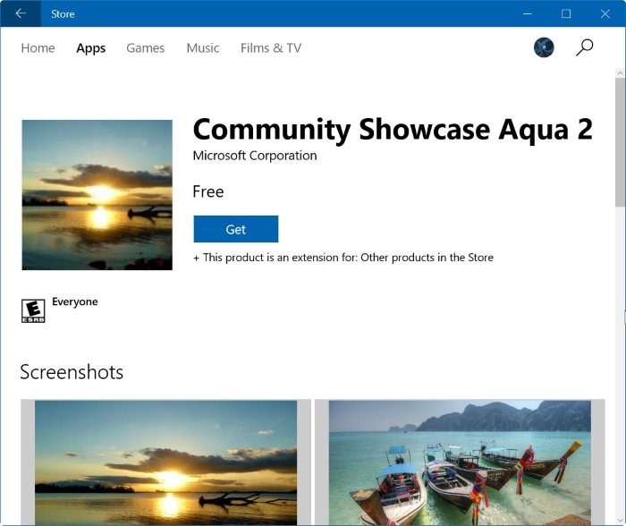 instalar windows 10 themes from Store pic4