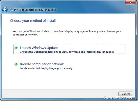 instalar idioma en windows 7