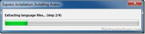 instalar paquete de idioma en Windows 7 Home Premium edition