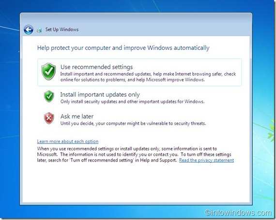 reinstall windows 7 step11