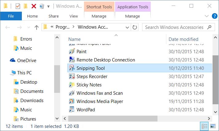 método abreviado de teclado para cortar ventanas de herramientas 10 step2