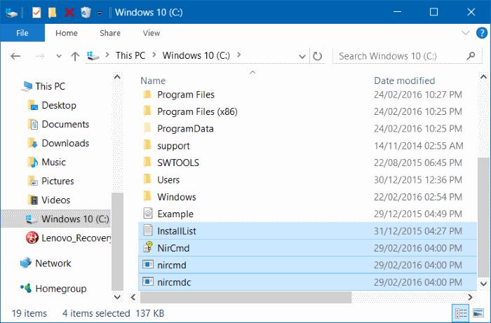 método abreviado de teclado para abrir la bandeja de CDDVD en Windows 10 pic2