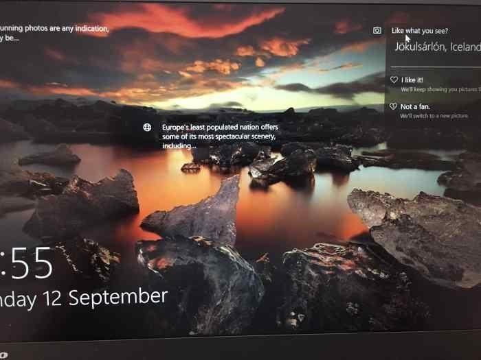 know where Windows 10 spotlight picture was taken