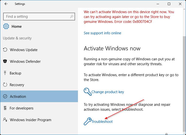 vincular la licencia de Windows 10 a la cuenta de Microsoft pic1