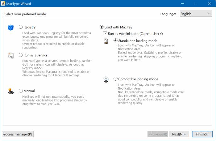 mactype for Windows 10