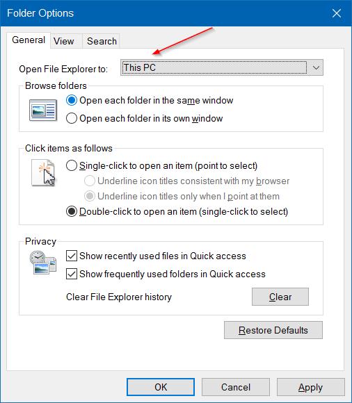hacer que el Explorador de archivos de Windows 10 se vea como Windows 7 pic3