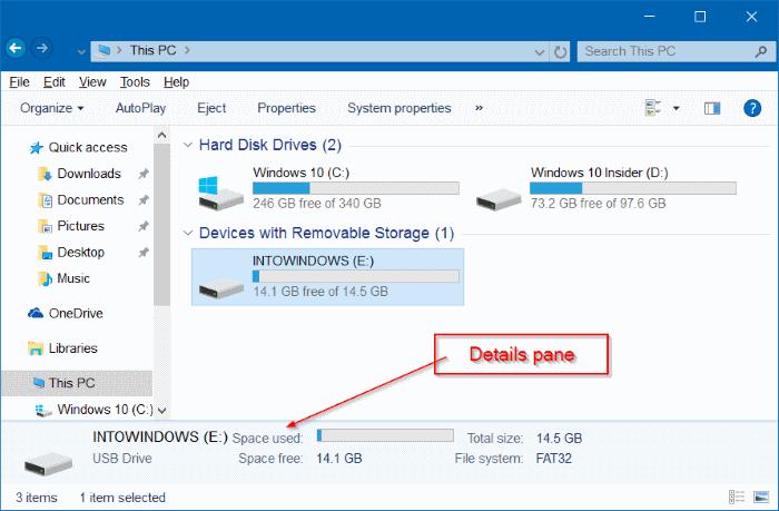 hacer que el Explorador de archivos de Windows 10 se vea como Windows 7 pic4.1
