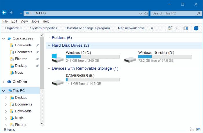 hacer que el Explorador de archivos de Windows 10 se vea como Windows 7 pic4