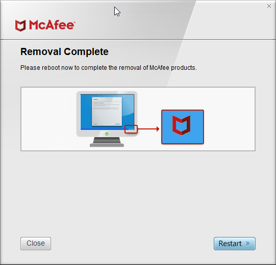 mcafee consumer product removal tool for Windows 10 pic4