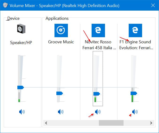 silenciar pestañas en el navegador Microsoft Edge en Windows 10 pic2