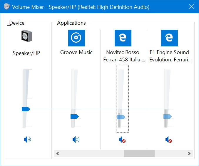 silenciar pestañas en el navegador Microsoft Edge en Windows 10 pic3