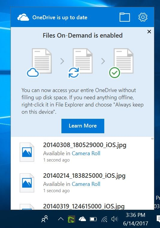 onedrive files on demand pic1