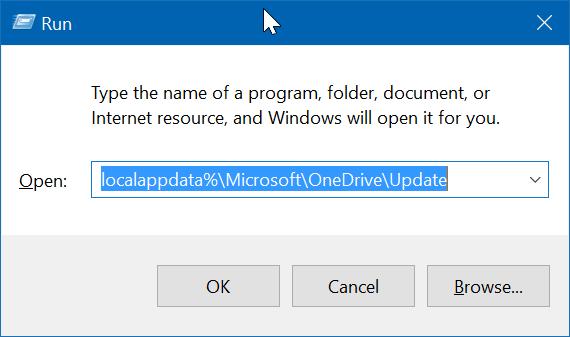 Falta el icono de onedrive en la barra de tareas de Windows 10 pic4