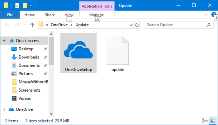 Falta el icono de onedrive en la barra de tareas de Windows 10 pic6