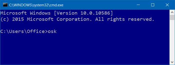 abrir teclado en pantalla en Windows 10 pic3